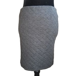 COSTES Quilted Cotton Mini Skirt